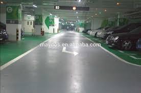 car parking lot paint epoxy resin floor paint colors on concrete