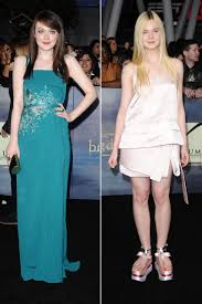what is dakota fanning doing now dakota and elle fanning on the twilight red carpet whose style is