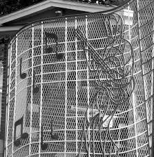 gate fine art photograph music photograph elvis black and