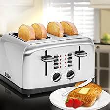 Elite Cuisine 4 Slice Toaster Oven Amazon Com Elite Platinum Ect 2334x Maxi Matic 4 Slice Stainless