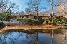 in time for 150th birthday frank lloyd wright house in new canaan
