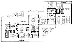 house plans with guest house house plan 95254 at familyhomeplans com
