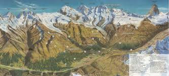 Hiking Maps Zermatt Breuil Cervinia Matterhorn Ski Paradise Skimap Org