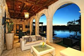 patio ideas small spanish style patios lush landscaping and a