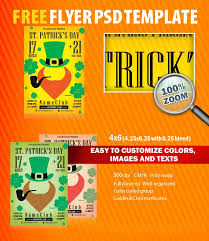 st patrick u0027s day flyer psd template free download 5810 styleflyers