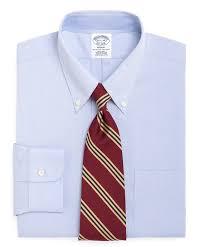 men u0027s slim fit button down collar dress shirt brooks brothers