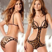 Ropa Interior Sensual Leopardo De La Ropa Interior Compra Lotes Baratos De Leopardo De