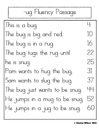 kindergarten reading passage sparking a for learning word family fluency passages