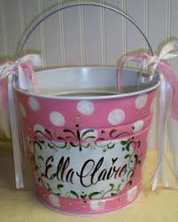 painted easter buckets large painted easter pail easter pails easter