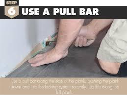 Locking Laminate Flooring How To Install The Last Row Of Laminate Flooring