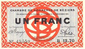 chambre de commerce 06 billets du xxème siècle les billets des chambres de commerce