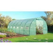 serre tunelle de jardin serre tunnel de jardin 18m 3x6 mètres achat prix fnac