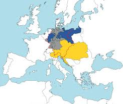 France Germany Map by The Austrians Were Part Of The German Confederation When Prussia