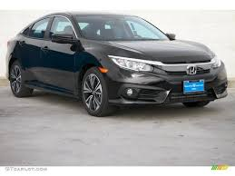 honda civic 2016 black 2016 crystal black pearl honda civic ex l sedan 109784205 photo