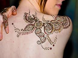 awesome full left side back phoenix henna tattoo ideas toycyte