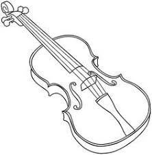 violin musiikki printattavaa väritystä ja puuhaa pinterest