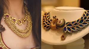 pattern gold necklace images Latest pure gold necklace set with earrings design ideas necklace jpg