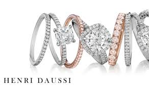 jewelry rubber rings images Bridal henri daussi diamond engagement rings and wedding bands jpg