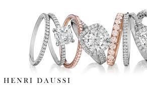 henri daussi engagement rings bridal henri daussi engagement rings and wedding bands