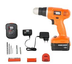 black and decker epc12k2 12 volts cordless drill orange amazon