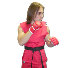 Street Fighter Halloween Costumes Red Karate Fighter Costume Mma Halloween Costumes Ken Street