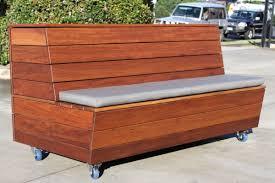 emtek furniture planter box with bench seat