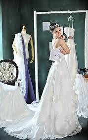 brautkleider vintage style vintage brautkleider 80 jahre stil lang krone hochzeitskleider