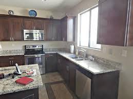 kitchen backsplash with black granite gray granite countertops