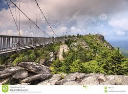 North Carolina how to travel for free images Swinging bridge grandfather mountain north carolina stock photo jpg