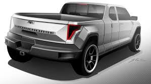 electric company truck workhorse group to unveil w 15 electric pickup truck in may 2017