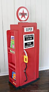 Bookshelves For Boys by Ana White How To Build A Vintage Gas Pump Cabinet With Side
