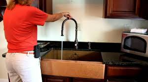 Waterstone Kitchen Faucets by Waterstone 5600 Plp Faucet Youtube