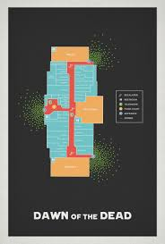 Map Of The Dead What Would The Dawn Of The Dead Mall Map Look Like