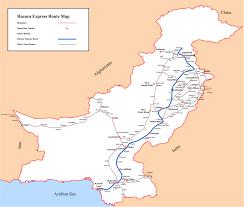 Lan Route Map by Hazara Express Wikipedia