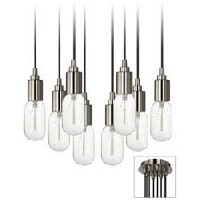 Edison Bulb Island Light 14 Best Kitchen Island Lighting Images On Pinterest Brushed