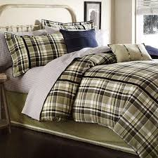 green plaid comforter set sets in queen blue and ecfq info
