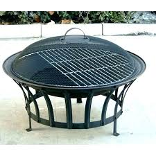 Outdoor Firepit Cover Home Depot Pit Hton Bay Crossfire 2950 In Steel Pit