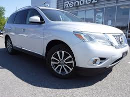 nissan pathfinder for sale ontario used 2013 nissan pathfinder sl cuir toit pano at rendez vous