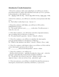 Pronoun Verb Agreement Worksheets 7th Grade English Worksheets Printable Directions For 7th Grade