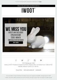 ugg discount code uk 2015 we miss you email from iwoot with welcome back coupon code when