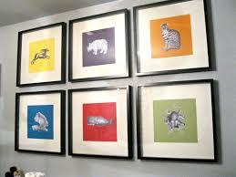 weird animals some easy diy art for the nursery what the vita