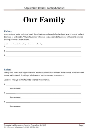 family rules and values therapy pinterest family rules