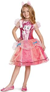 my little pony girls deluxe pinkie pie toddler costume