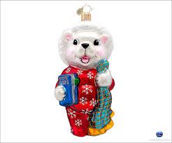 christopher radko bedtime bert christmas ornament