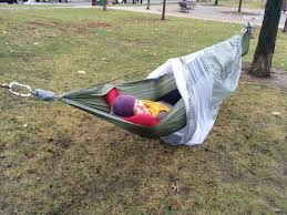 complete camping hammock with screen and rainfly 10 steps with