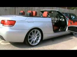 bmw 320i convertible review 2008 bmw 320i m sport convertible 2 0 petrol silver