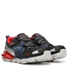 skechers red light up shoes skechers orbiters light up sneaker preschool navy red