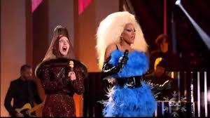 thanksgiving muppets lady gaga and rupaul fashion