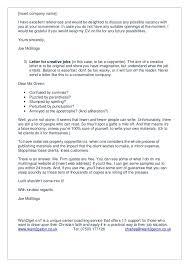 covering letter for possible job vacancies professional resumes