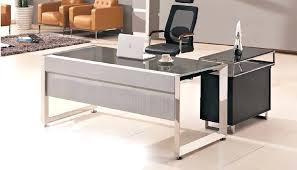 Trestle Computer Desk Desk Glass Top Office Desk Furniture Glass Top Trestle Table
